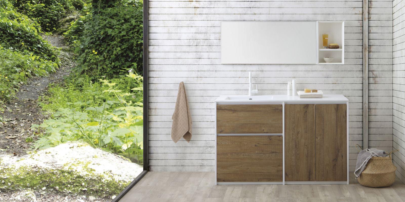 Mobile Per Lavatrice Moderno mobile coprilavatrice per l'arredo lavanderia