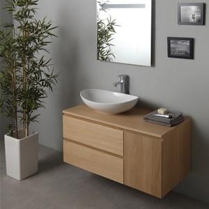 Mobile bagno moderno Block esclusivamente su misura