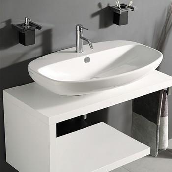 Mobili sospesi per lavabi appoggio - Lavandini con mobile bagno ...