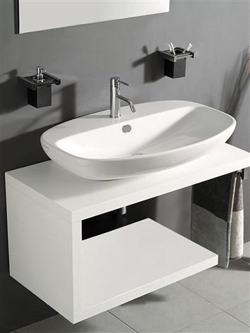 Fun mobile bagno con lato aperto - Mobiletti sospesi per bagno ...