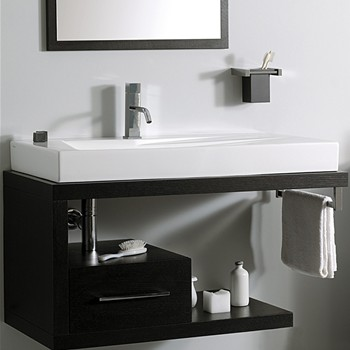 Mobili sospesi per lavabi appoggio - Mobili sospesi per bagno ...
