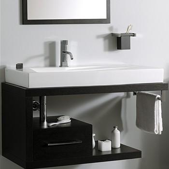 Mobili sospesi per lavabi appoggio - Lavandino bagno sospeso ...