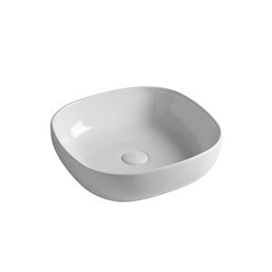 Lavabi appoggio in ceramica, tondi, rettangolari, quadrati
