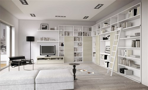 Librerie A Parete Componibili Classiche E Moderne Un Mare