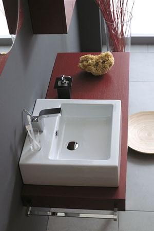 Piani per lavabi e top bagno in legno