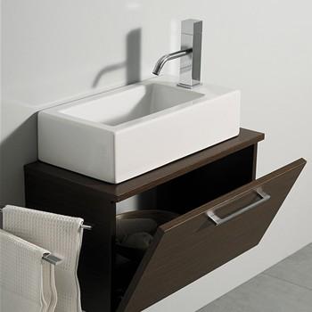 mobili sospesi per lavabi appoggio