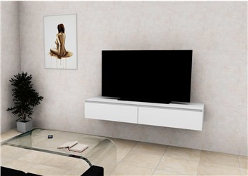 Mobili E Supporti Tv.Mobile Televisione Con 2 Cassetti Fatto Su Misura