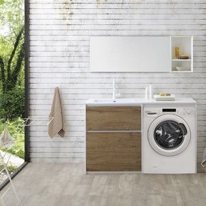 Wash Open con lavabo Tidy integrato