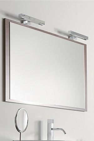Specchio Bagno Con Lampada.Specchi Da Bagno Su Misura