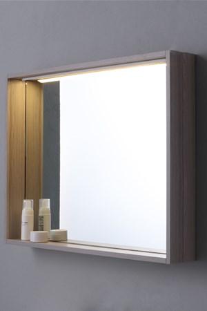 Specchi da bagno su misura for Specchio bagno profilo alluminio