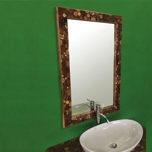 Specchi bagno con cornice