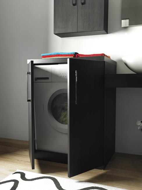 Mobile coprilavatrice wash chiuso for Coprilavatrice in legno
